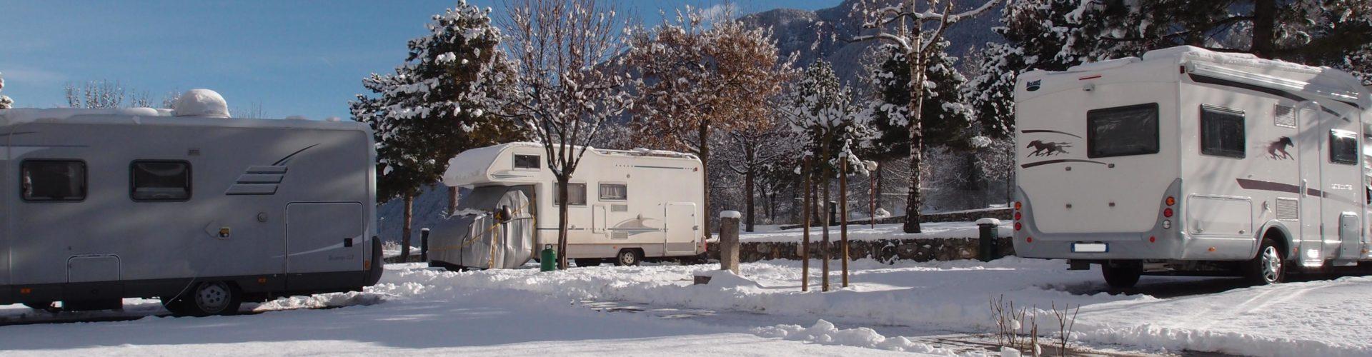 Inverno in Camper